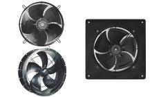 Осевые вентиляторы с внешнероторным двигателем