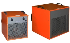 Электрические тепловентиляторы большой мощности (20 - 100 кВт)